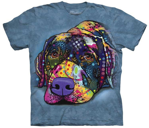 Dog T-Shirt | Savvy Labrador Adult-Gifts from DePanda