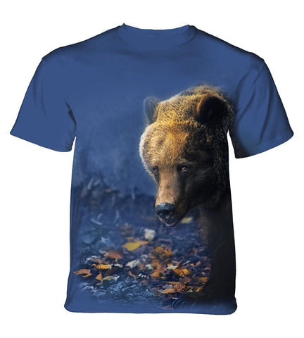 Bear T-Shirt | Foraging Adult-Gifts from DePanda