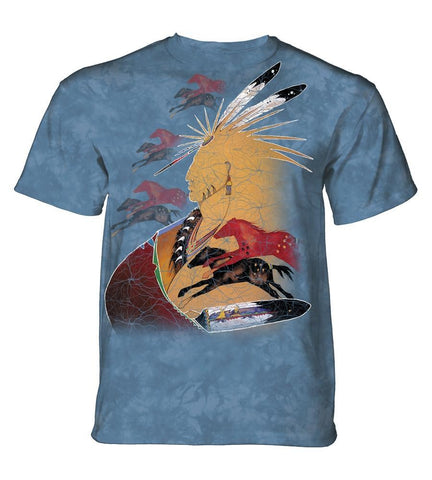 Indian T-Shirt | Future Horse Vision Adult-Gifts from DePanda
