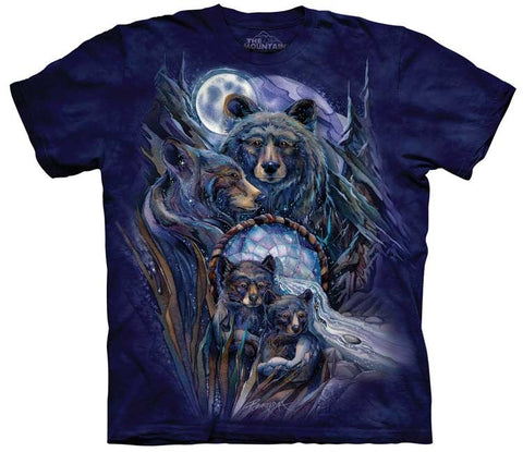 Bear T-Shirt | Journey to the Dreamtime Adult-Gifts from DePanda