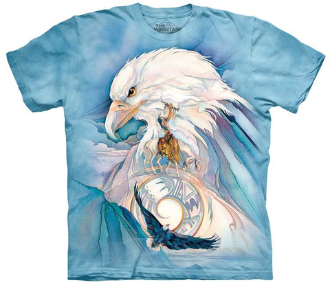 Eagle T-Shirt | Peace at Last Adult-Gifts from DePanda