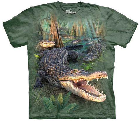 Alligator T-Shirt | Gator Parade Adult-Gifts from DePanda