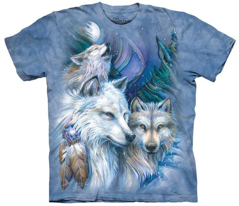 Wolf T-Shirt | Unforgettable Journey Adult-Gifts from DePanda