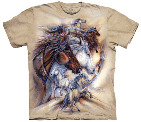 Horse T-Shirt | The Journey is the Reward Adult-Gifts from DePanda