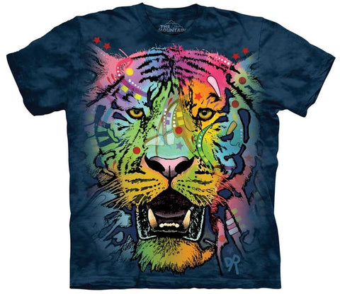 Tiger T-Shirt | Russo Tiger Face Adult-Gifts from DePanda