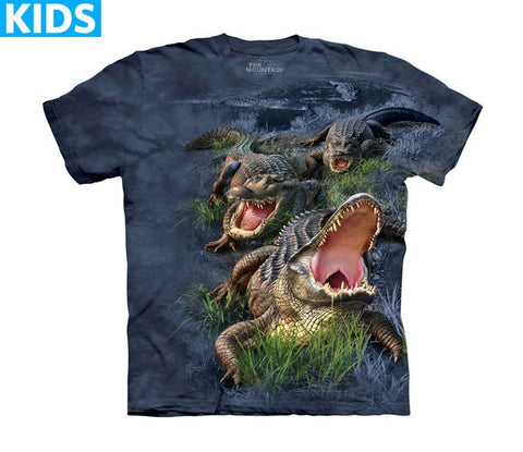 Alligator T-Shirt | Gator Bog Kids-Gifts from DePanda