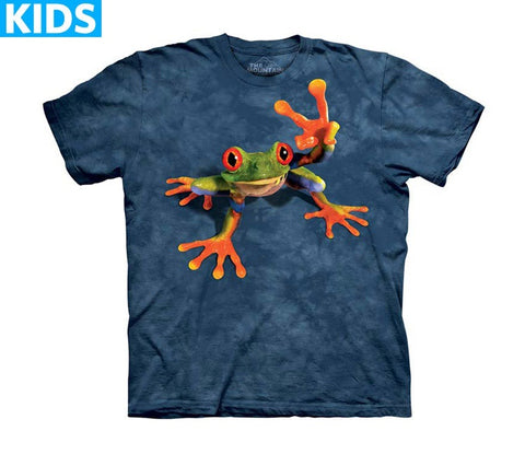Frog T-Shirt | Victory Frog Kids-Gifts from DePanda