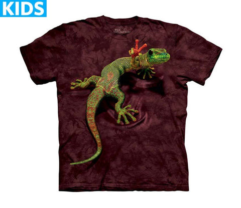 Gecko T-Shirt | Peace Out Gecko Kids-Gifts from DePanda