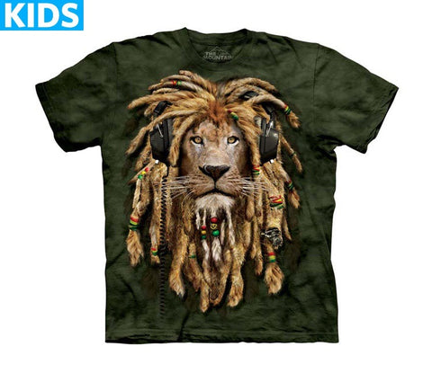 Lion T-Shirt | DJ Jahman Kids-Gifts from DePanda