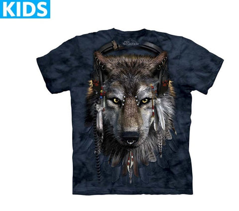 Wolf T-Shirt | DJ Fen Kids-Gifts from DePanda