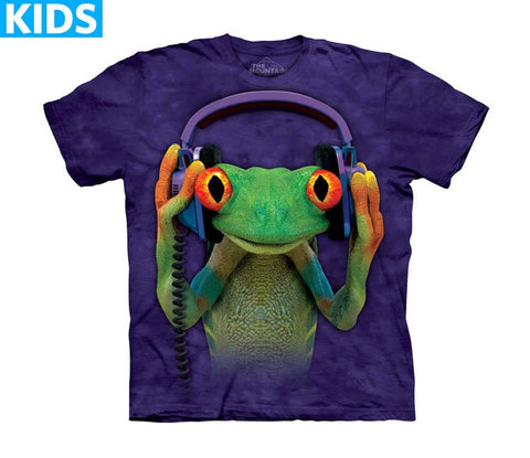 Frog T-Shirt | DJ Peace Kids-Gifts from DePanda