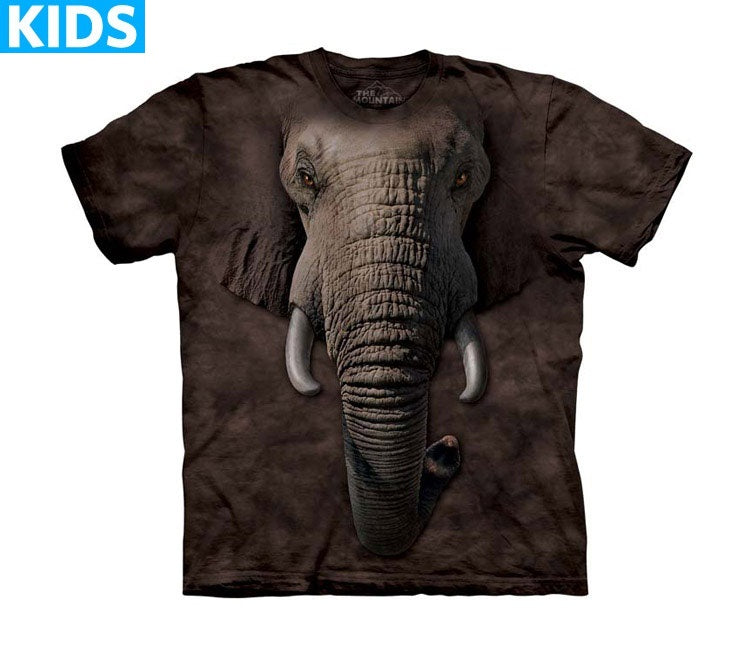 Elephant T-Shirt | Elephant Face Kids