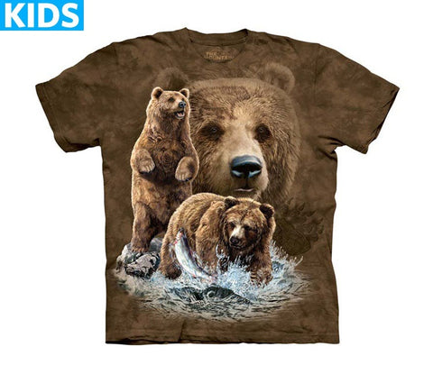 Bear T-Shirt | Find 10 Brown Bears Kids-Gifts from DePanda