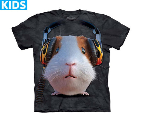 Guinea Pig T-Shirt | DJ Guinea Pig Kids-Gifts from DePanda