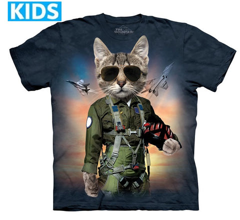 Cat T-Shirt | Tom Cat Kids-Gifts from DePanda