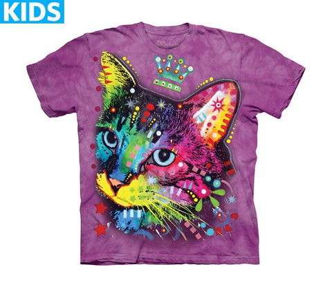 Kitten T-Shirt | Crown Kitten Kids-Gifts from DePanda