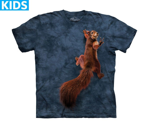 Squirrel T-Shirt | Peace Squirrel Kids-Gifts from DePanda