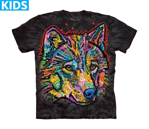 Wolf T-Shirt | Happy Wolf Kids-Gifts from DePanda