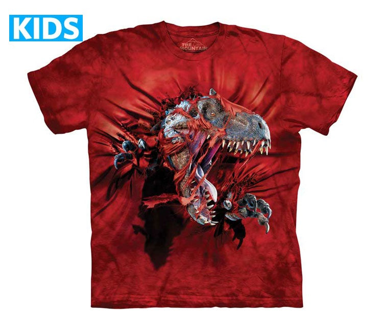 Dinosaur T-Shirt | Red Ripper Rex Kids