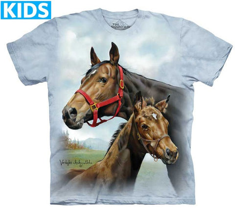 Horse T-Shirt | Hope for the Roses Kids-Gifts from DePanda