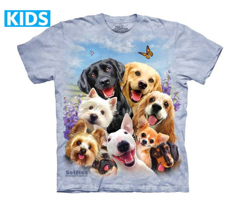 Puppy T-Shirt | Dogs Selfie Kids-Gifts from DePanda