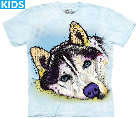 Dog T-Shirt | Russo Siberian Husky Kids-Gifts from DePanda