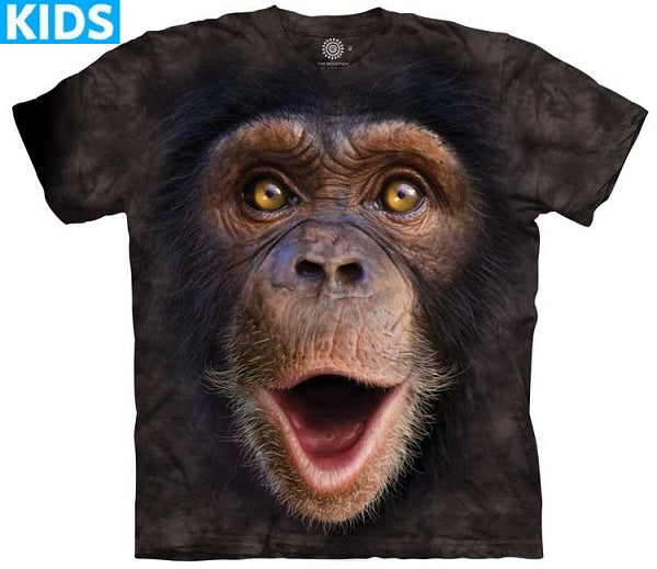 Chimpanzee T-Shirt | Happy Chimp Kids