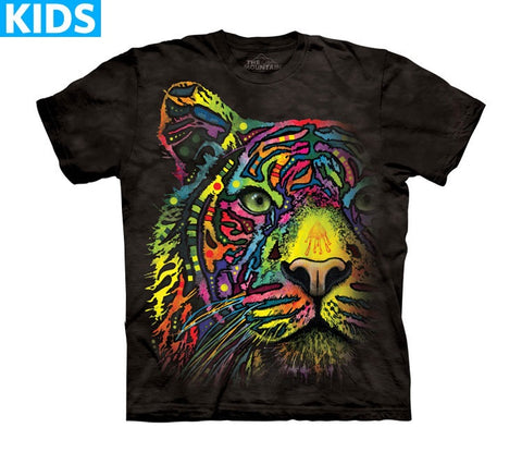Tiger T-Shirt | Rainbow Tiger Kids-Gifts from DePanda