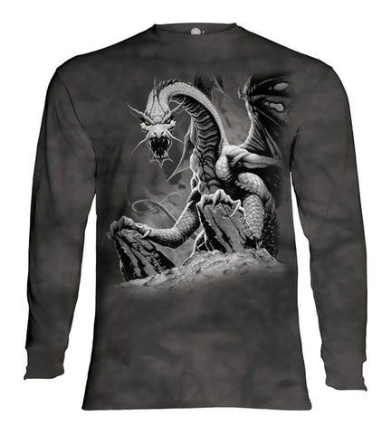 Dragon Long Sleeve | Black Dragon-Gifts from DePanda