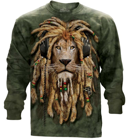 Lion Long Sleeve | DJ Jahman-Gifts from DePanda