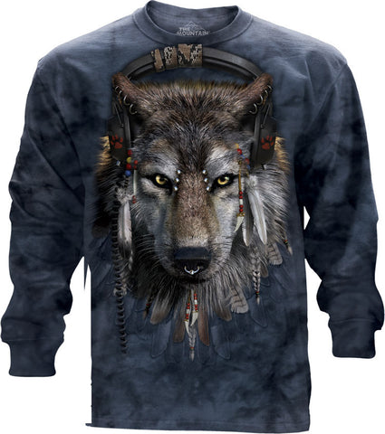 Wolf Long Sleeve | DJ Fen-Gifts from DePanda