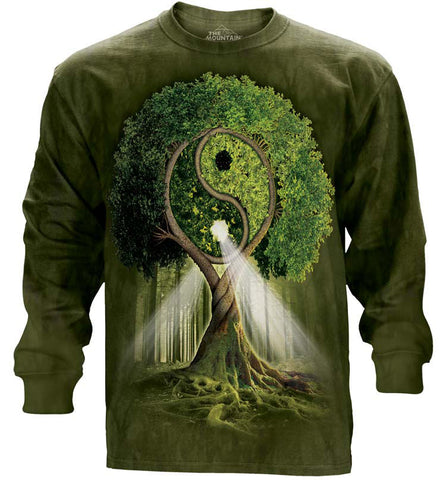 Celtic Long Sleeve | Yin Yang Tree-Gifts from DePanda