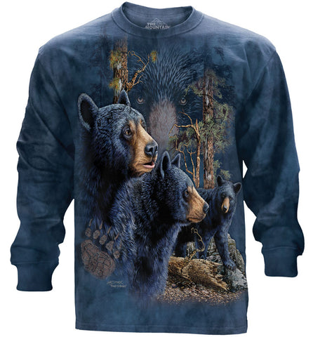 Bear Long Sleeve | Find 13 Black Bears-Gifts from DePanda