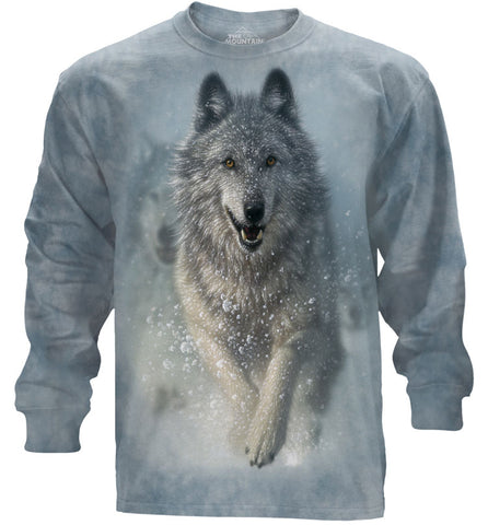 Wolf Long Sleeve | Snow Plow-Gifts from DePanda