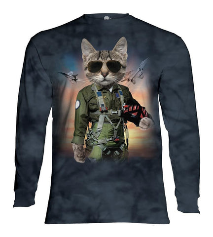 Cat Long Sleeve | Tom Cat-Gifts from DePanda