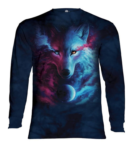 Wolf Long Sleeve | Where Light and Dark Meet-Gifts from DePanda