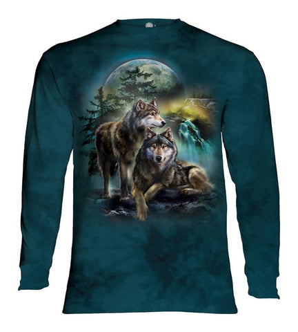 Wolf Long Sleeve | Wolf Lookout-Gifts from DePanda