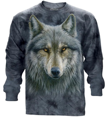 Wolf Long Sleeve | Warrior Wolf-Gifts from DePanda