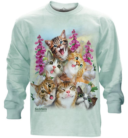 Kitten Long Sleeve | Kitten Selfie-Gifts from DePanda