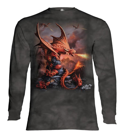 Dragon Long Sleeve | Fire Dragon-Gifts from DePanda
