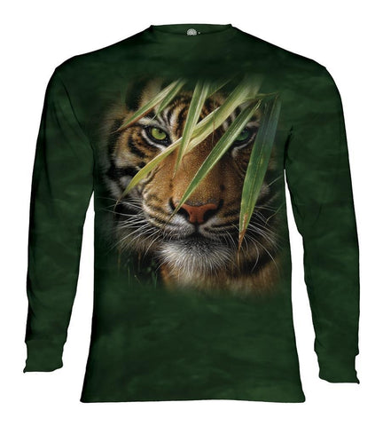 Tiger Long Sleeve | Emerald Forest-Gifts from DePanda