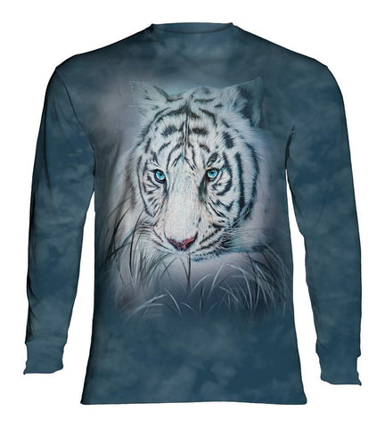 Tiger Long Sleeve | Thoughtful White Tiger-Gifts from DePanda