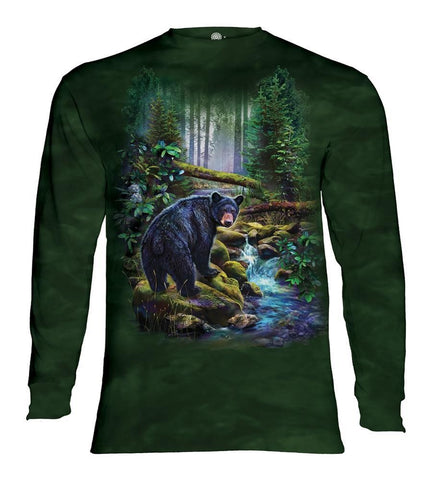 Bear Long Sleeve | Black Bear Forest-Gifts from DePanda