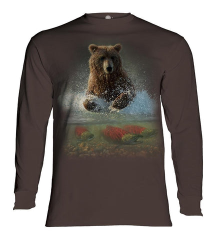 Bear Long Sleeve | Lucky Fishing Hole-Gifts from DePanda