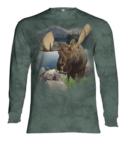 Moose Long Sleeve | Monarch of the Forest-Gifts from DePanda