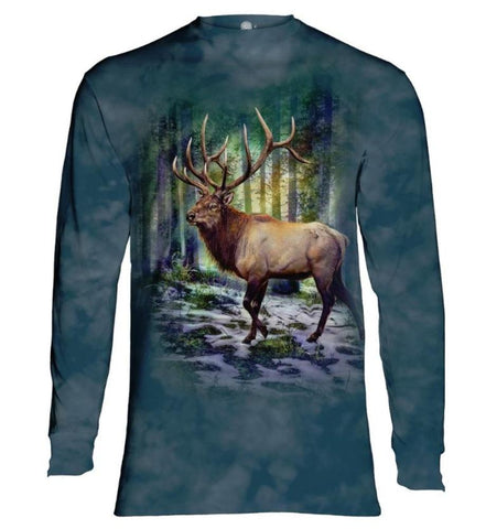 Elk Long Sleeve | Sunlit Elk-Gifts from DePanda