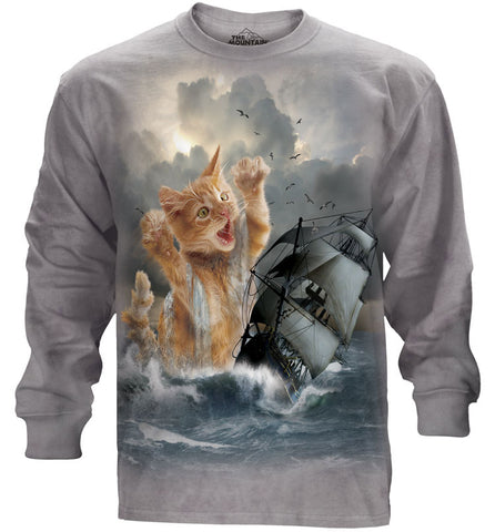 Kitten Long Sleeve | Krakitten-Gifts from DePanda