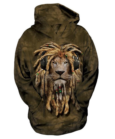 Lion Hoodie Sweatshirt | DJ Jahman Youth-Gifts from DePanda