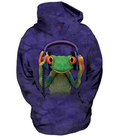 Frog Hoodie Sweatshirt | DJ Peace Youth-Gifts from DePanda