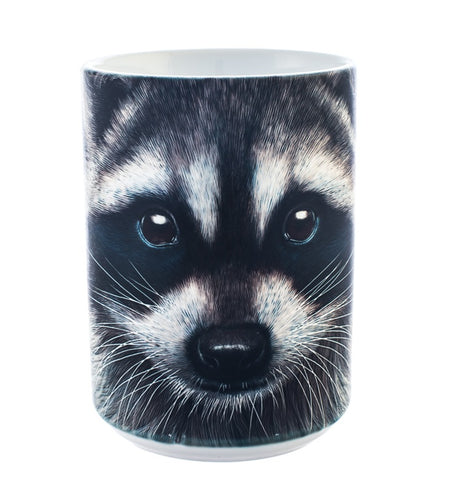 Raccoon Coffee Mug | Raccoon Face